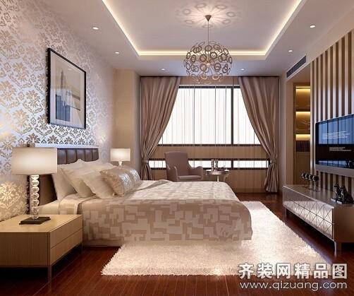 128平米普通户型欧式风格家装装修图片设计-郑州齐装