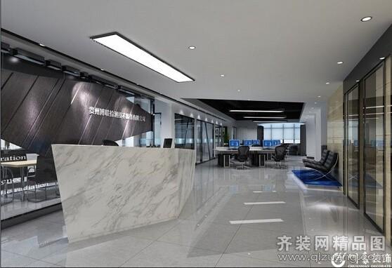 博联检测技术服务办公空间