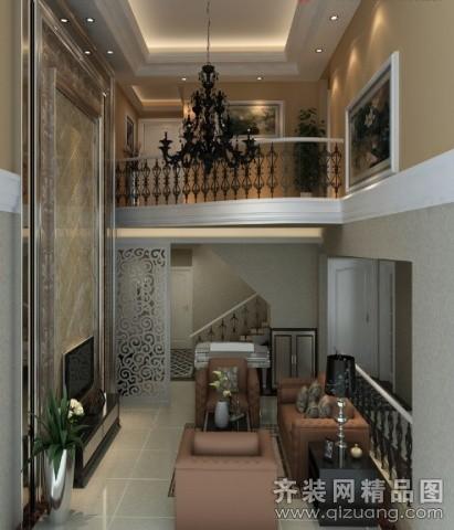 200平米复式户型欧式风格家装装修图片设计-广州齐装