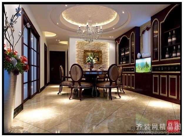 200平米跃层户型欧式风格家装装修图片设计-东阳齐装