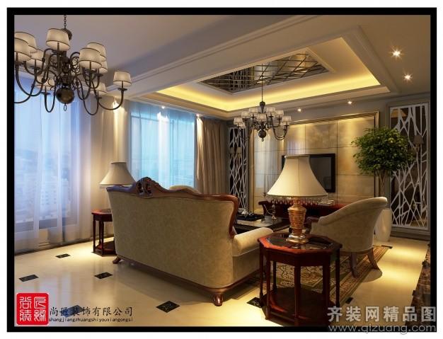 160平米跃层户型欧式风格家装装修图片设计-东阳齐装