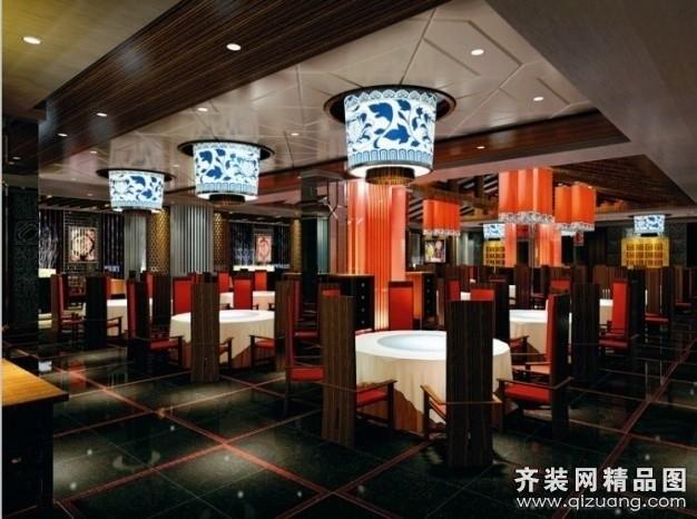 主题餐厅现代简约装修效果图实景图