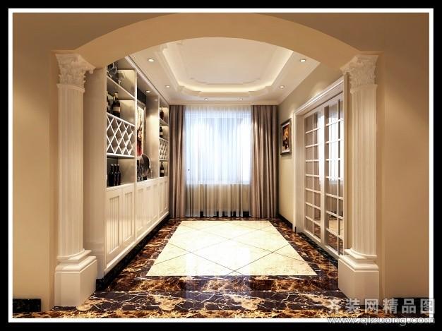 120平米普通户型欧式风格家装装修图片设计-济南齐装