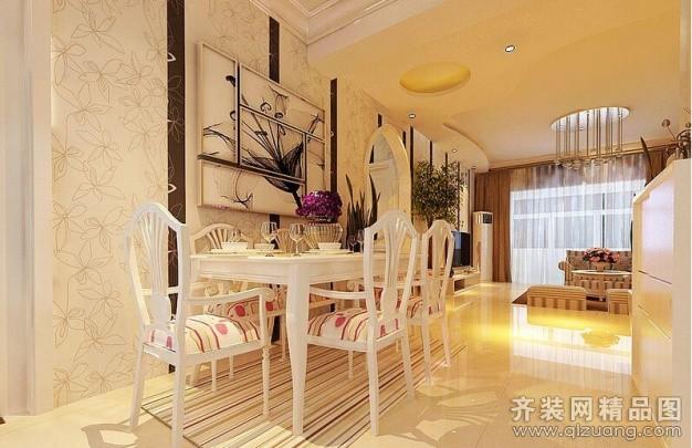 90平米普通户型田园风格家装装修图片设计-广州齐装