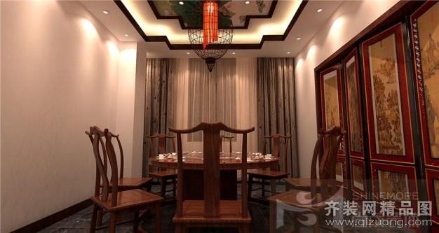600平米普通户型古典风格家装装修图片设计-郑州齐装