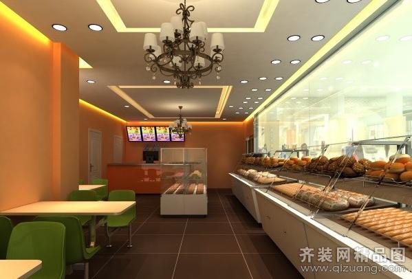 某蛋糕店60平米普通户型现代简约家装装修图片设计-齐