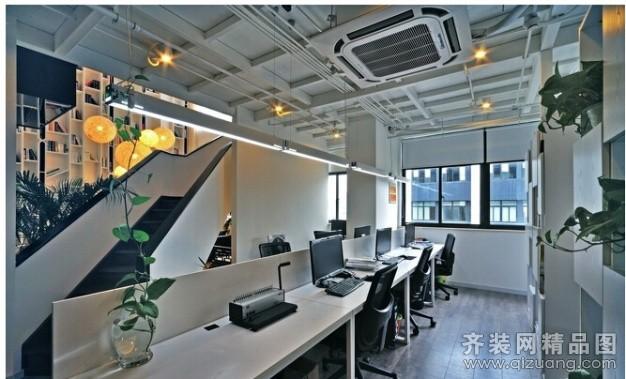 办公室混搭风格装修效果图实景图