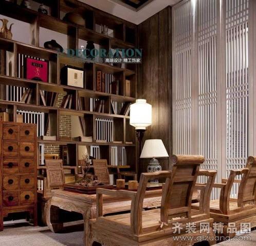 观天下茶室古典风格装修效果图实景图