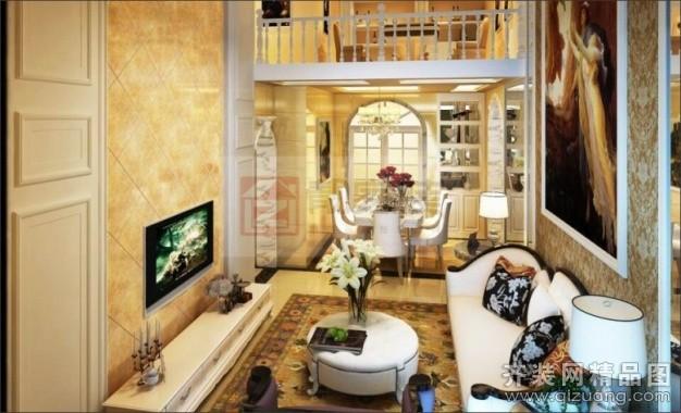 165平米复式户型欧式风格家装装修图片设计-南宁齐装