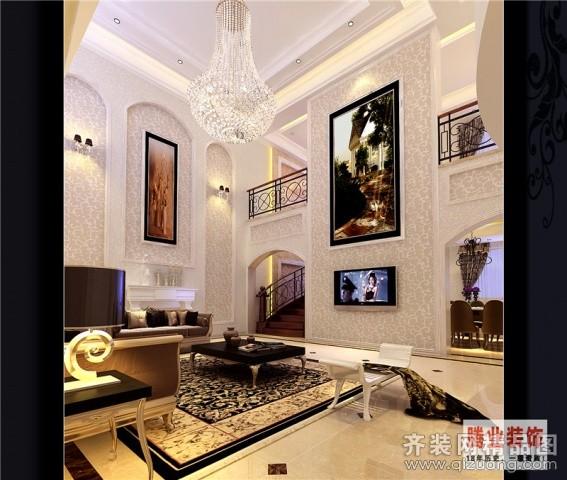 460平米别墅欧式风格家装装修图片设计-温州齐装网