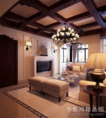 300平米别墅欧式风格家装装修图片设计-贵阳齐装网