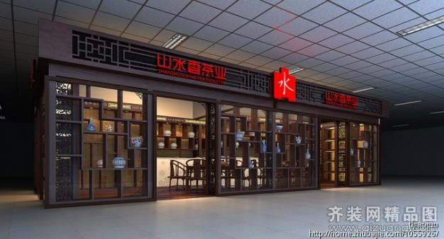2000平米普通戶型古典風格家裝裝修圖片設計-杭州齊