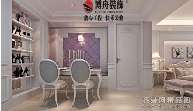 90平米普通户型欧式风格家装装修图片设计-杭州齐装