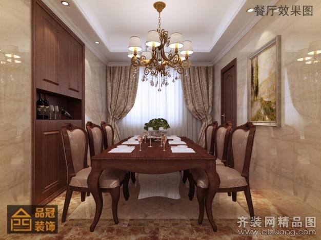 138平米普通户型欧式风格家装装修图片设计-张家港齐