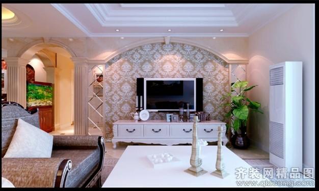 240平米别墅欧式风格家装装修图片设计-淮安齐装网
