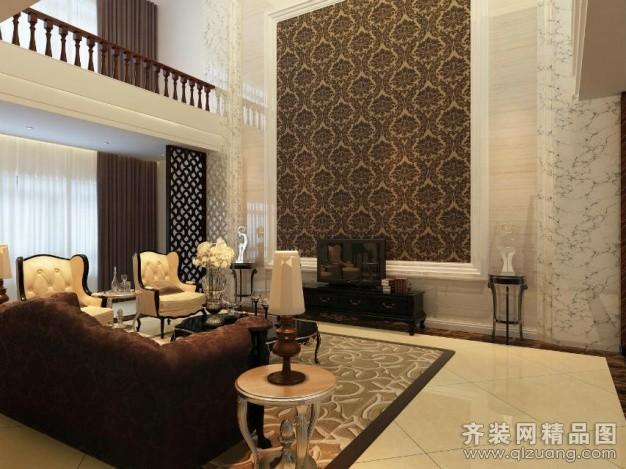 150平米跃层户型欧式风格家装装修图片设计-太原齐装