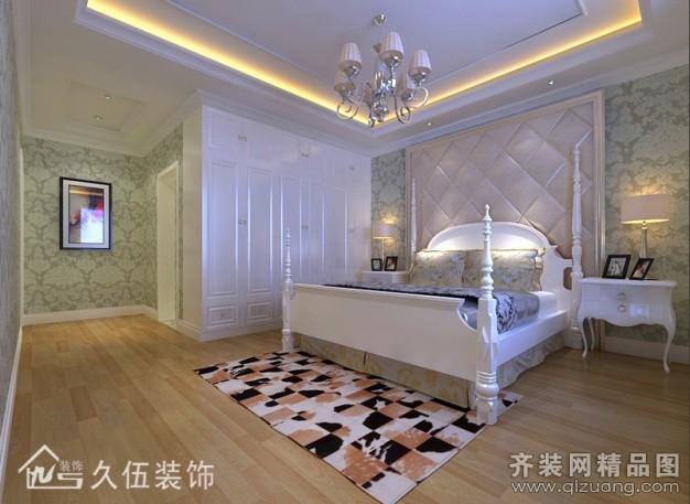 160平米普通户型欧式风格家装装修图片设计-连云港齐