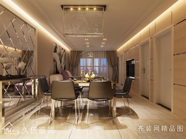 138平米普通户型欧式风格家装装修图片设计-连云港齐