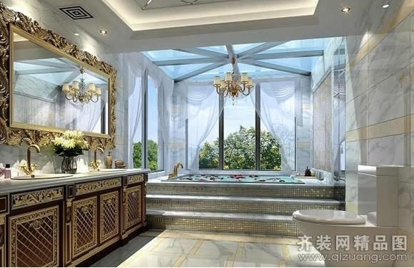 300平米别墅欧式风格家装装修图片设计-溧阳齐装网