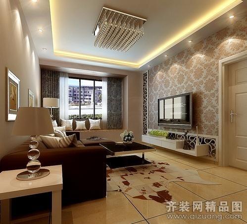 远洋公寓现代简约装修效果图实景图