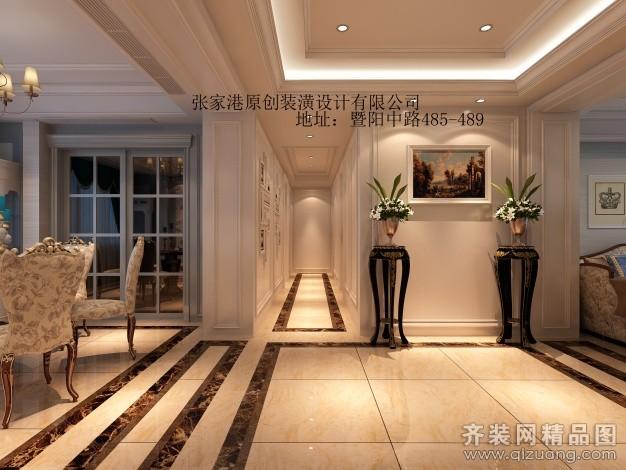 150平米普通户型欧式风格家装装修图片设计-张家港齐