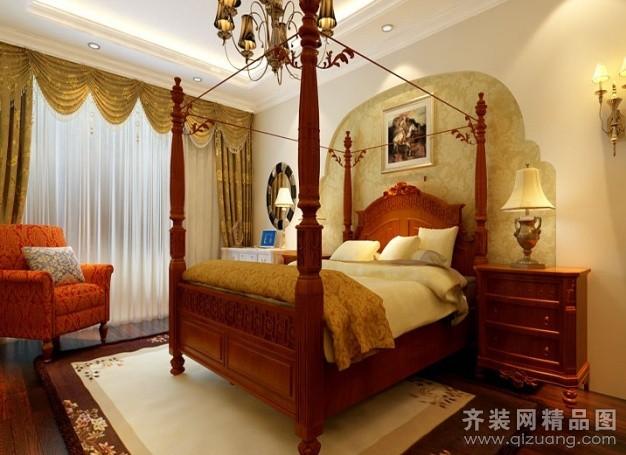 140平米普通户型欧式风格家装装修图片设计-广州齐装
