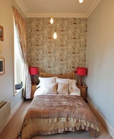 清新自然家居风格 卧室装修效果图
