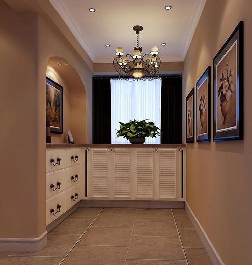 简约的美式风格客厅