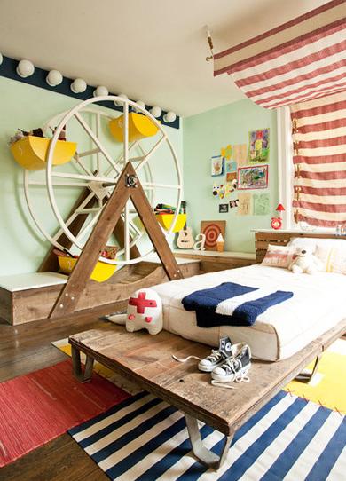 儿童房色彩风水 儿童房颜色选择
