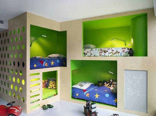 六款充分利用空间的儿童房设计