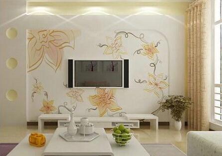 电视背景墙也能玩出新花样