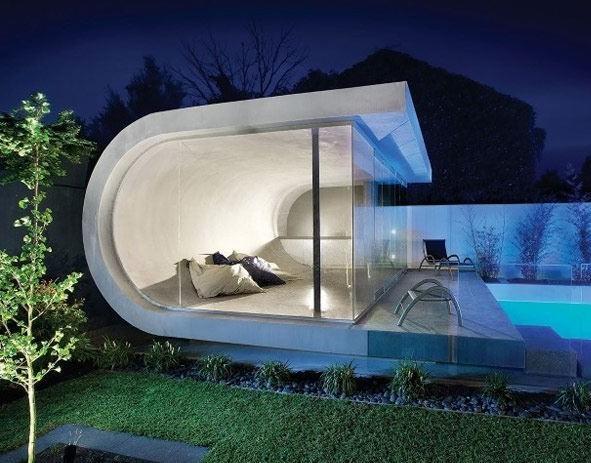 低调奢华白色小洋房装修效果图