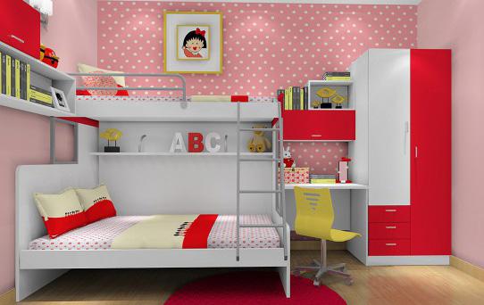 儿童房上下床的装修方案?