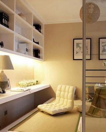 小房间装修效果图 小房间空间放大法