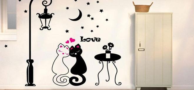 个性家居手绘墙如何更好搭配室内设计风格