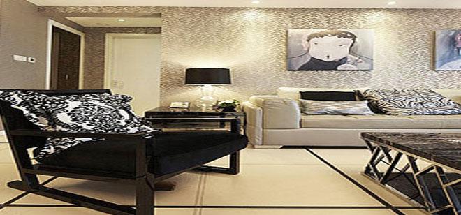 两个不同户型的现代风格装修样板房