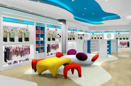 童装店怎样装修 高人气童装店装修效果图