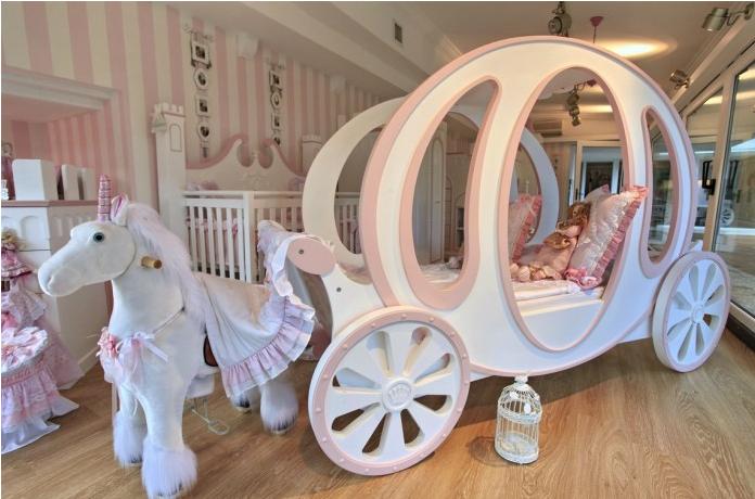 6款小房间装修设计效果图 满足所有女孩粉色的小心思