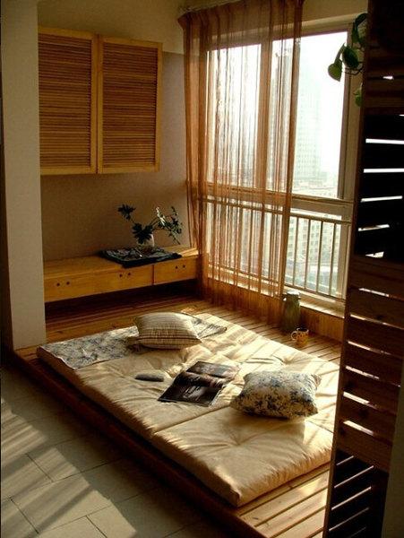 7款榻榻米装修效果图 给你一个宅的理由