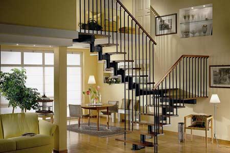 复式楼梯装修效果图 复式楼梯装修设计注意要点