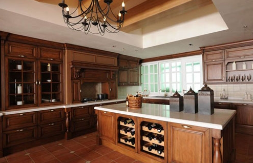 厨房瓷砖背景墙效果图欣赏