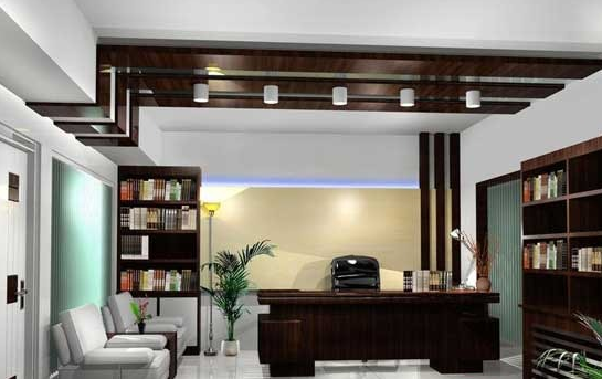 最新办公室装修设计效果图案例