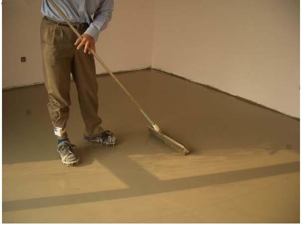 自流平水泥地面施工4大步骤