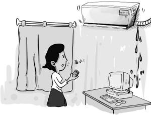 空调漏水的解决方法