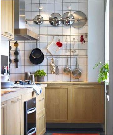小厨房装修效果图,超迷你!