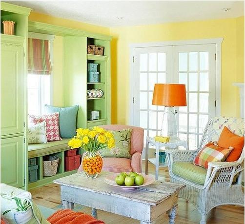 色彩大师教你来搭配,让你的家不单调!