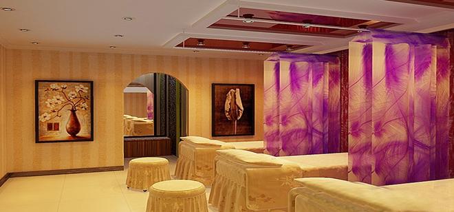 美容院装修效果图 流行的美容院的装修风格介绍
