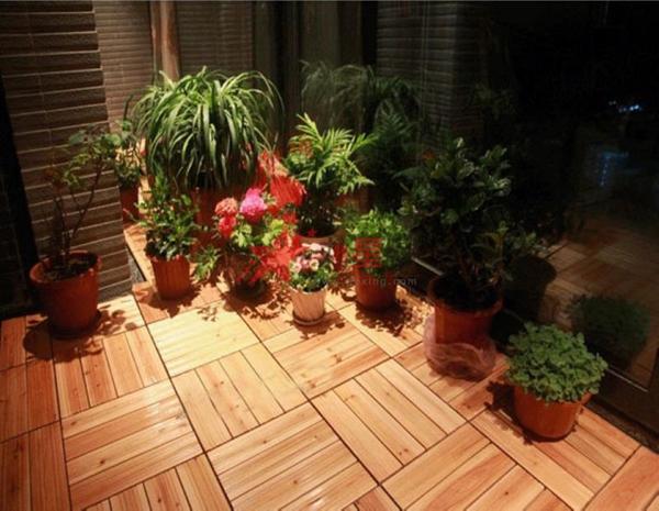 防腐木地板的安装流程介绍