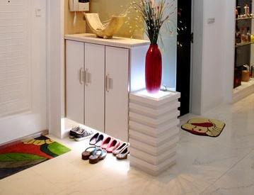 如何才能装修出鞋柜装修效果图中的鞋柜