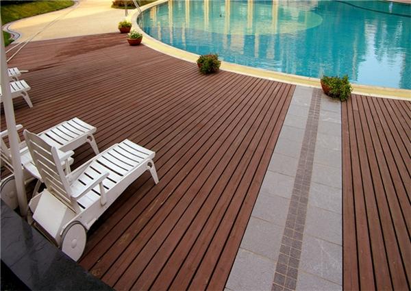 防腐木地板如何安装?